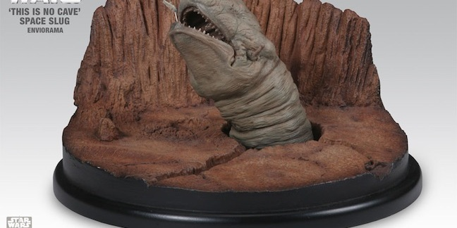 """A giant space slug, or """"Exogorth"""", from The Empire Strikes Back"""