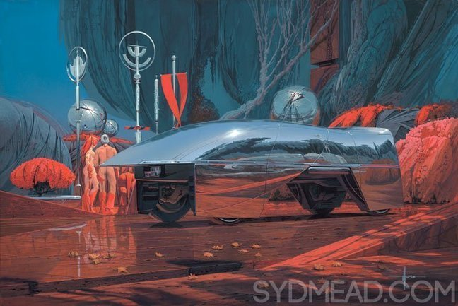 We Talk To Tron Artist Syd Mead On The Other Side Of The