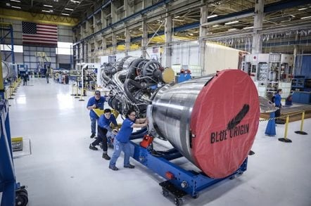 Blue Origin's BE-4 rocket engine