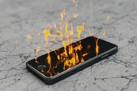 phone burn