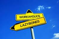 Lazybones sign Shutterstock