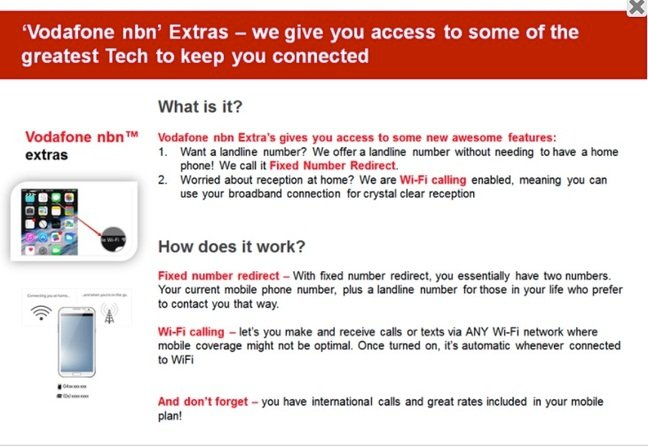 Vodafone's NBN plans may include voice-over-WiFi, virtual