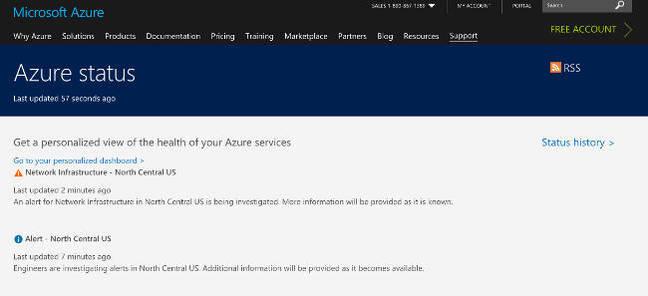 Azure November 6 outage