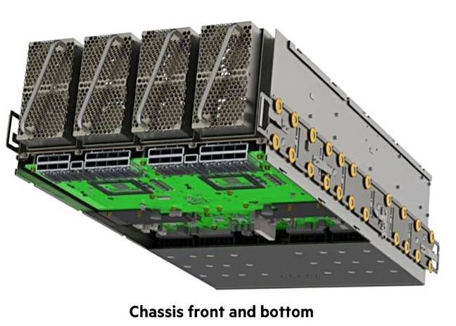 HPE_Superdome_chassis_front_and_bottom