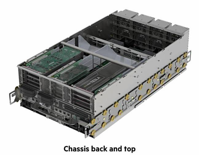HPE_Superdome_flex_chassis_back_and_top