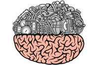 Half mechanical brain