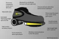Vortrex VR shoes
