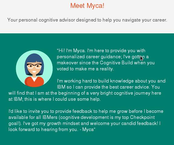 IBM's 'Myca' HR-bot