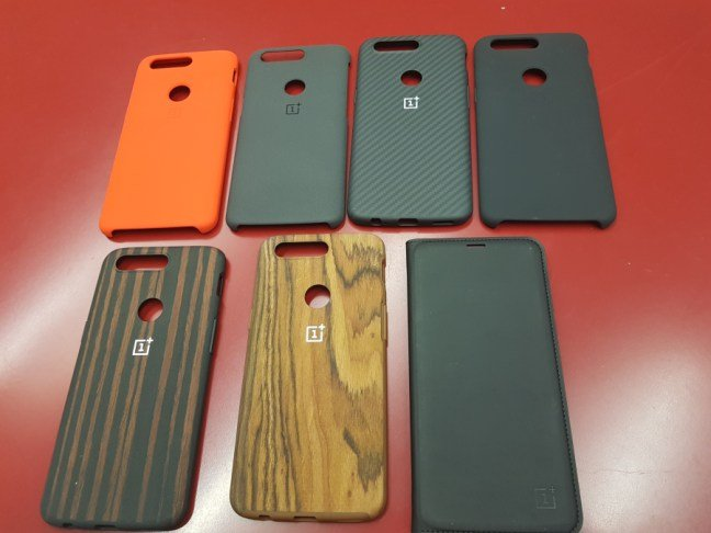 OnePlus 5T covers selection
