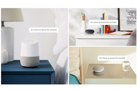 Google Home broadcast mode