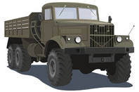 Illustration of truck