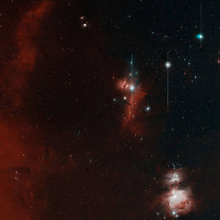 "ZTF's ""first light"" image of Orion"