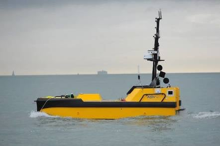 Crewless dinghy signs to uk ship register for middle east mission asv c worker 7 robot boat fandeluxe Gallery