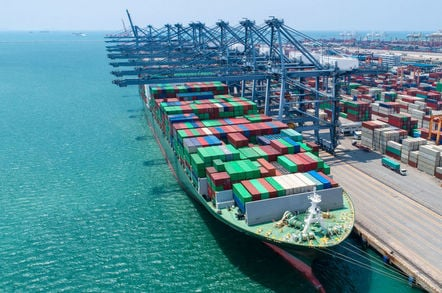 Container ship loading plans are 'easily hackable' • The