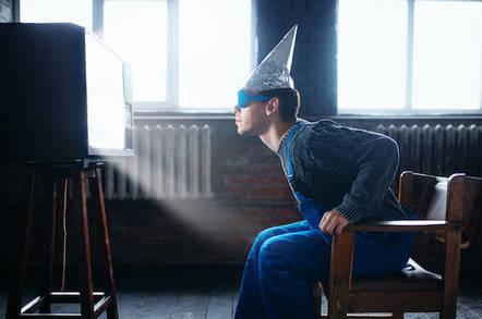 tinfoil hat (shutterstock)