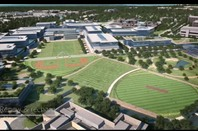 A view of Microsoft's rebuilt Redmond Campus