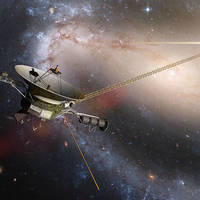 Voyager probe illustration