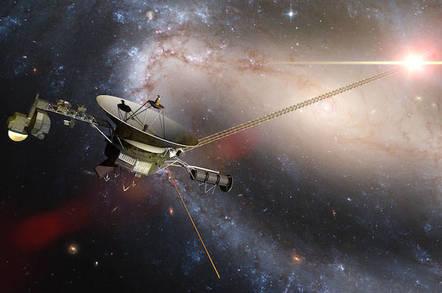 Voyager Probe Image
