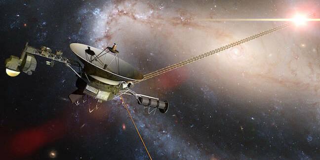 Voyager probe illustration