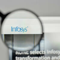 Infosys web page