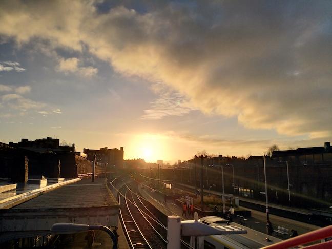 Nokia 8 Sample Photo: High contrast sunrise