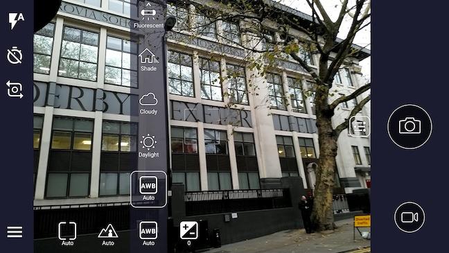 Nokia 8 Camera UI Pro Mode
