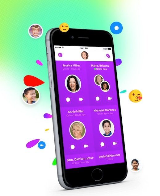 Facebook launches messaging app for under 13s