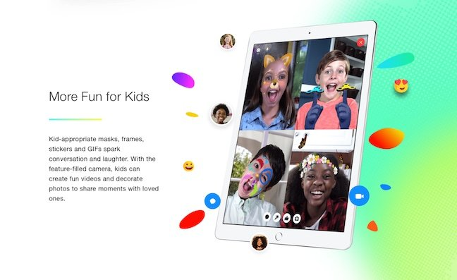 Facebook launched messenger for kids