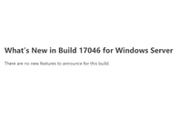 Build 17046 for Windows Server