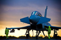 A Eurofighter Typhoon. Pic: BAE Systems