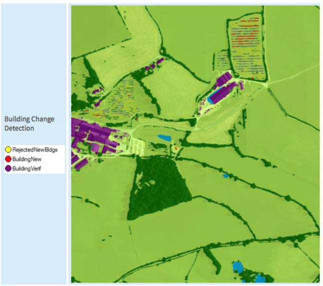 Ordnance Survey: Machine Learning detection