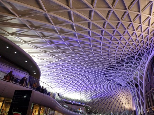 HTC U11 Life pic of Kings Cross Station