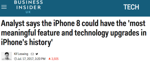 bi iphone 8 headline