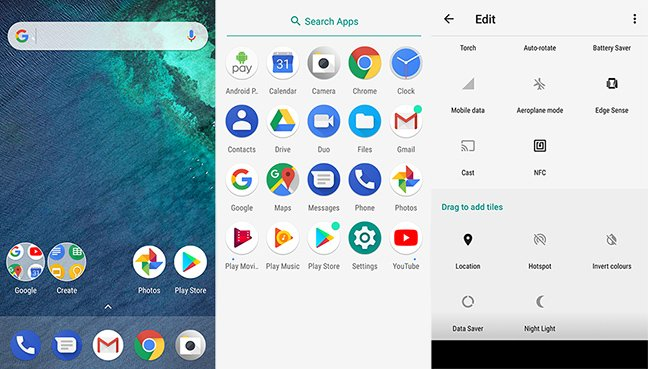 The Android One UI
