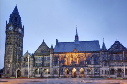 Rochdale Town Hall, in Greater Manchester