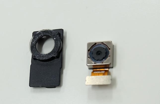 Gemini camera module