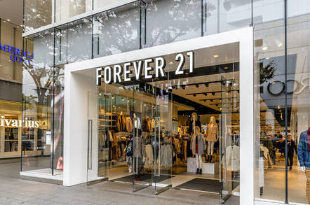 Forever 21 storefront