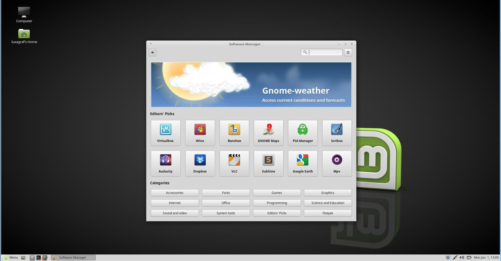 Linux Mint 18 3: A breath of fresh air? Well, it's a step