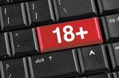 18+ key on keyboard