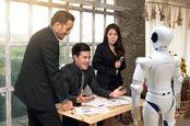 AI boss and human slaves