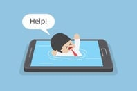 Drowning in a smartphone