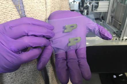 Inkjet-printed nanothermite
