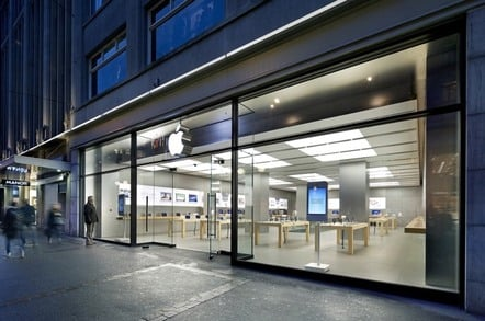 Swiss cheesed off after Apple store iPhone does Samsung Galaxy Note
