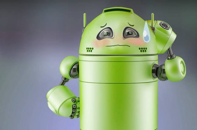 'Mummy, what's felching?' Tot gets smut served by Android app