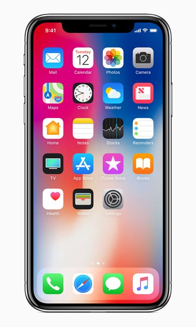iphone x homescreens