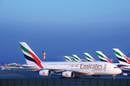 Emirates A380s at Dubai airport