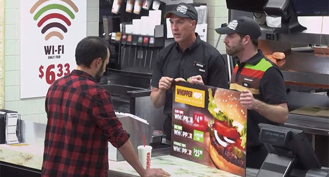 Burger King explains net neutrality using a whopper