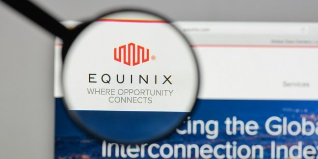 Equinix web page