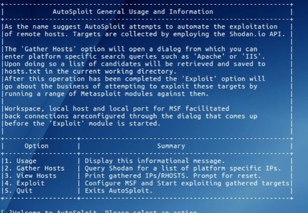 Autosploit screen
