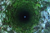 deep old well